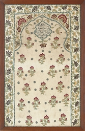 AN EMBROIDERED MEHRAB, PERSIAN