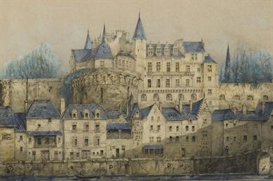 Troisième Vue du Chateau d'Amb