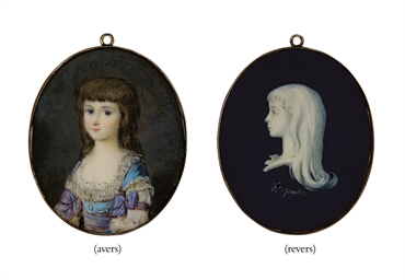 DOUBLE MINIATURE ROYALISTE OVA