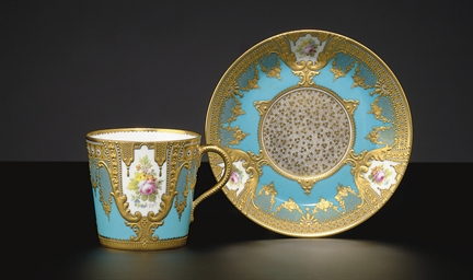 A ROYAL CROWN DERBY 'JEWELED'