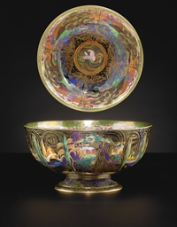 A WEDGWOOD FAIRYLAND LUSTRE PU