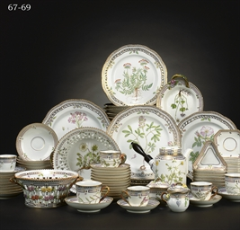 A GROUP OF ROYAL COPENHAGEN 'F