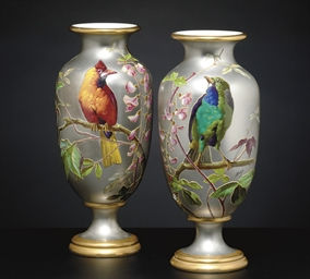 A PAIR OF FRENCH ORNITHOLOGICA