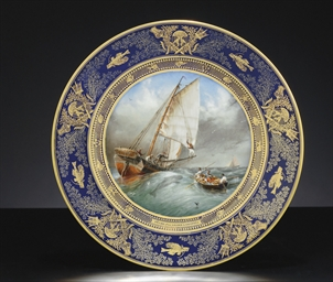 A SEVRES (LOUIS PHILIPPE) COBA