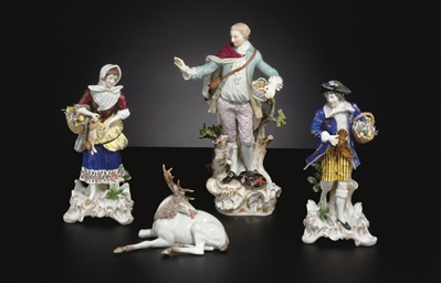 A MEISSEN FIGURE OF A GALLANT