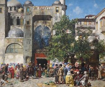 Mercato in Oriente