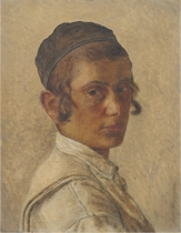 Portrait of a Young Orthodox Boy