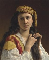 Jeune fille grecque