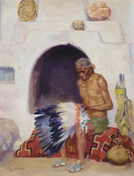 War Chief of Zuni