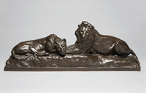 'Lion and Lioness'