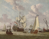 The visit of Peter the Great to Amsterdam, August-September, 1697