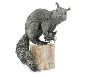 AN ITALIAN SILVER SQUIRREL