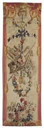 A LOUIS XV AUBUSSON ENTRE-FENE