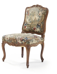 A LOUIS XV BEECHWOOD AND BEAUV