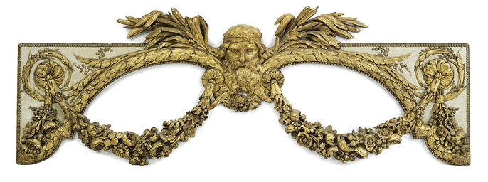 A LATE LOUIS XV CARVED, CREAM-