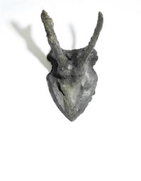 Rehgehörn (Grau Übermalt)