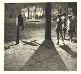 Corner Shadows (M. 83)