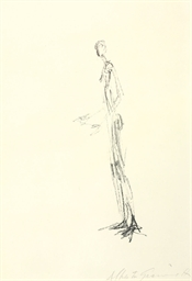 Man Standing (Homme debout), f
