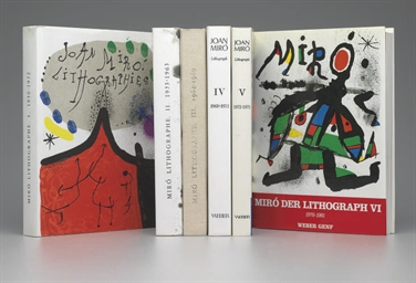Joan Miró  Lithographs [Vols.