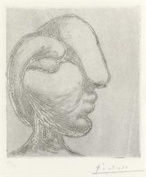 Tête de femme (B. 256; Ba. 295