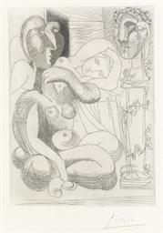 Dormeuses et sculptures (B. 25