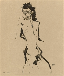 Male Nude (Self Portrait) I, f