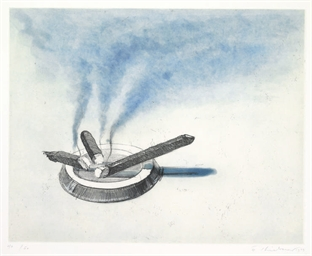 Cigars, from Recent Etchings I
