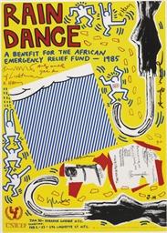 Rain Dance Benefit Poster (Cor