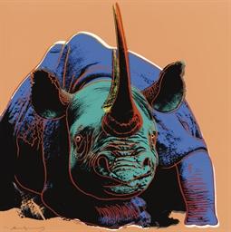 Black Rhinoceros, from Endange