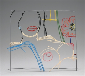 Steel Drawing: from Nude Paint