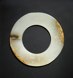 A WHITE JADE DISC, YUAN