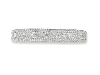 A DIAMOND BANGLE, BY BULGARI