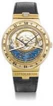Ulysse Nardin A fine 18K gold automatic perpetual calendar a