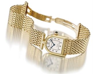 Cartier. An unusual 18K gold b