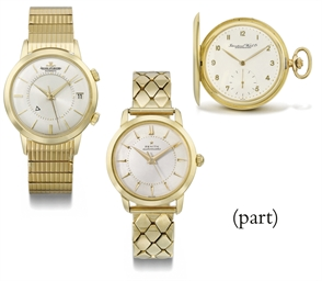A group of seven wristwatches