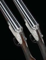 A PAIR OF 12-BORE SIDELOCK EJECTOR GUNS BY BOSS & CO., NOS. 4554 5