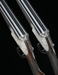 A PAIR OF 12-BORE SIDELOCK EJ