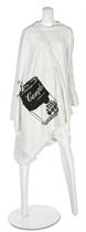 WORLD'S END (F.1981)     A 'NOSTALGIA OF MUD' (BUFFALO) COLLECTION TOGA DRESS WITH 'WARHOL' PRINT