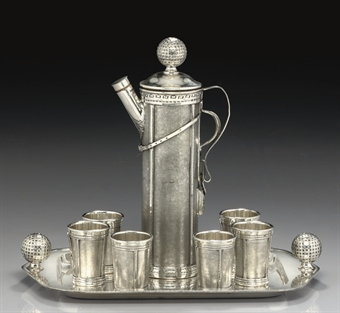 Derby Silver Company cocktail shaker