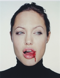 Angelina Jolie with Blood, 200