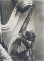 Lisa with Harp, Paris, 1939