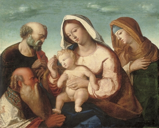 The Holy Family with Saint Ann