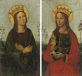 The Virgin; and The Magdalen