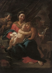 The Holy Family with the Infan