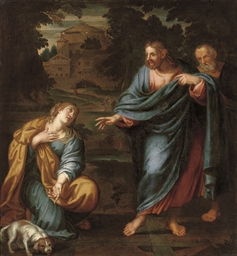 Christ healing the daughter of