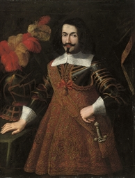 Portrait of a Knight of Santia