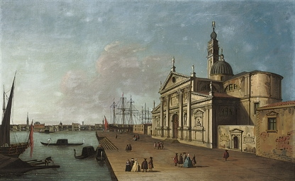 The Bacino, Venice, with San G
