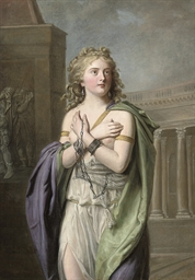 Zenobia, Queen of Palmyra, in