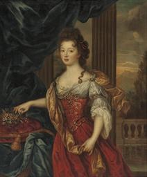 Portrait of Marie-Thérèse de B