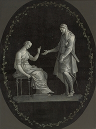 Apollo and Diana, in a feigned
